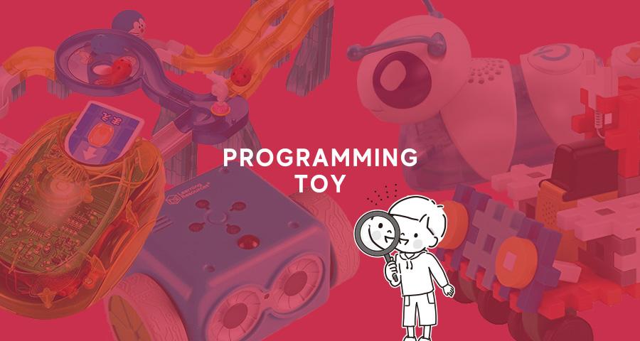 プログラミング的思考の基礎を育むおもちゃ