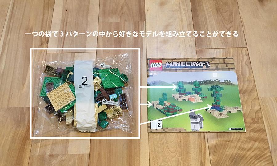 【レゴ】マインクラフト -クラフトボックス特徴と購入レビュー
