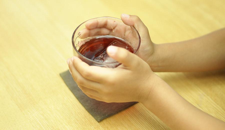 熱中症対策飲み物作り方赤紫蘇ジュース2
