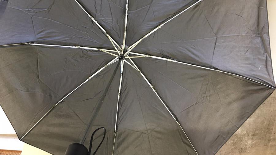 人気の男性用日傘を使ってみた感想と「おすすめ日傘10選」内側黒