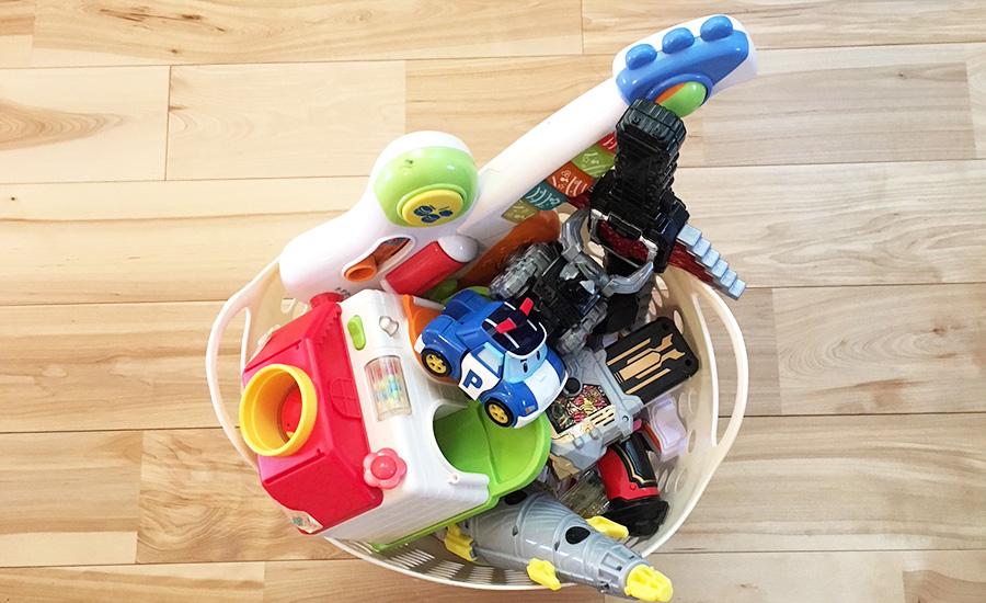 断捨離するおもちゃの選びのポイント