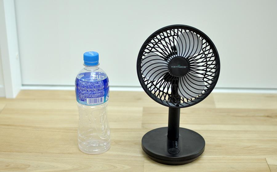 【感想レビュー】KEYNICE2020USB卓上扇風機-特徴2-2