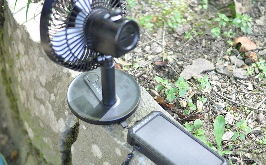 【感想レビュー】KEYNICE2020USB卓上扇風機モバイル充電