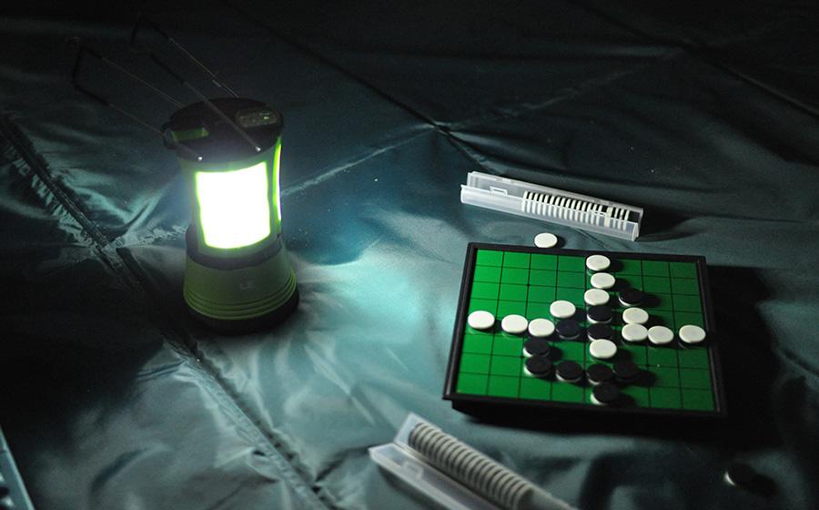 【レビュー】LightingEVER USBランタン感想【良い点・悪い点】