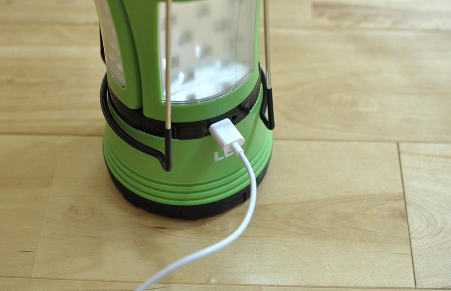 LightingEVER USB充電ランタンのイマイチな点