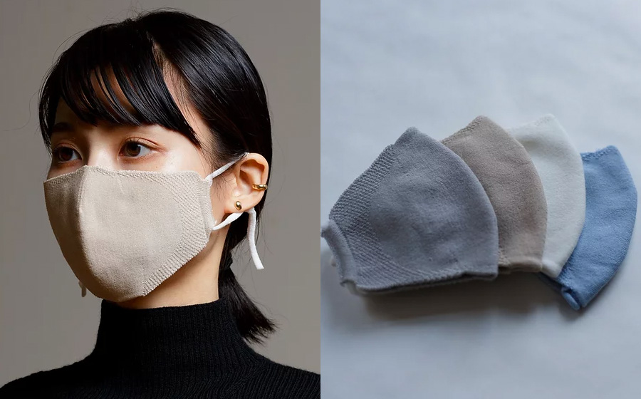 冬マスクニットマスク「basic mask」株式会社サトー