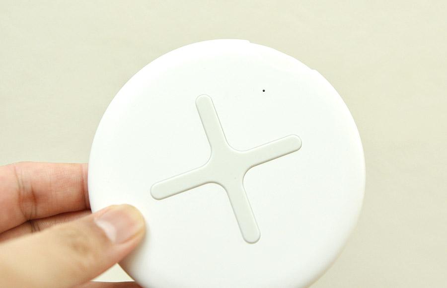 無印のワイヤレス充電器デザイン