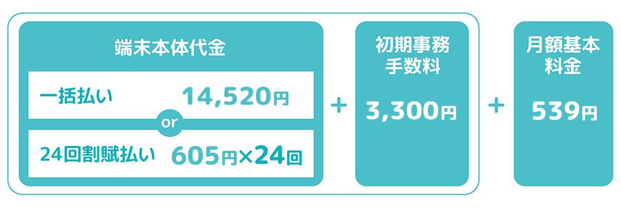 ソラノメsoranomeの利用料金オリジナル料金表