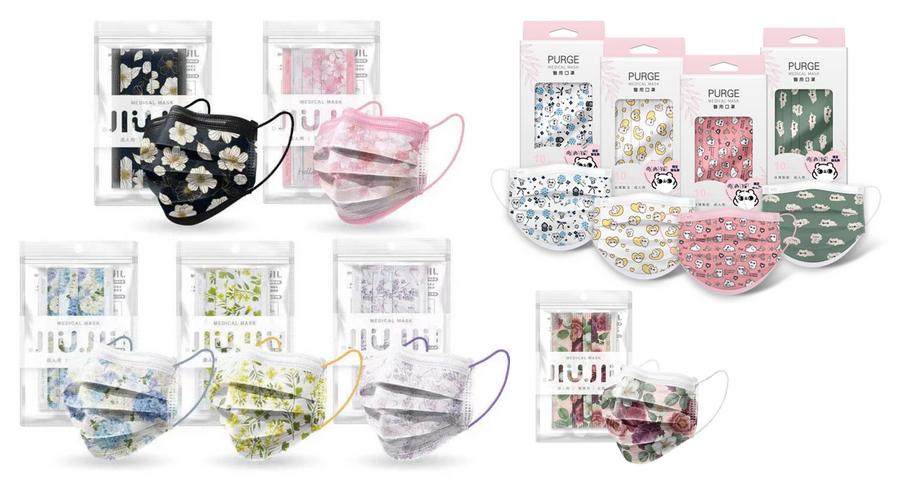 JIUJIU(ジュジュ)マスクの特徴と人気の理由不織布マスクでオシャレなデザイン