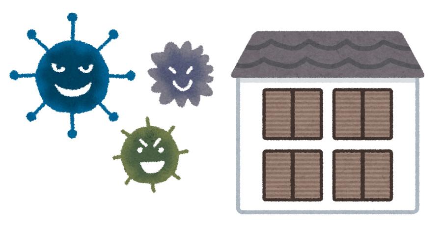 古い家のカビの臭い対策【環境と原因】