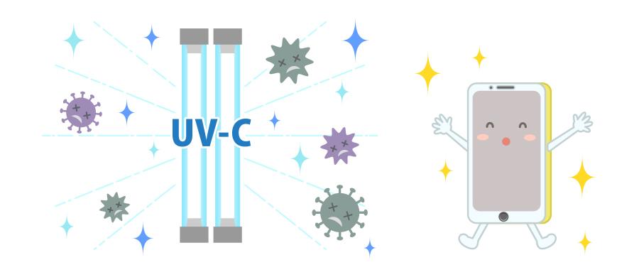 ADESSO(アデッソ)フォッシュPhosh-UV除菌でスマホは壊れない