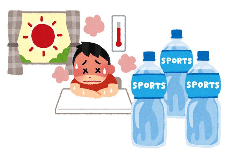 一般的なスポーツドリンクの成分と熱中症対策への効果