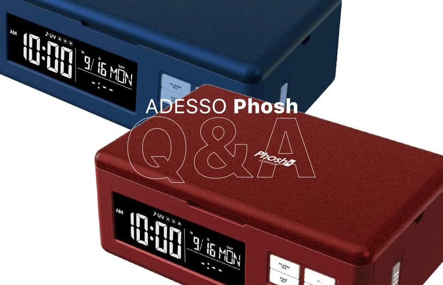 ADESSO(アデッソ)UV除菌フォッシュPhoshの疑問を解決【Q&A】